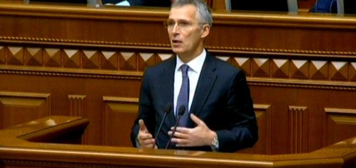 НАТО на стороне Украины: Столтенберг осудил агрессию РФ в Крыму и на Донбассе