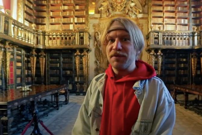 Иван Дорн попал в старинную библиотеку с летучими мышами