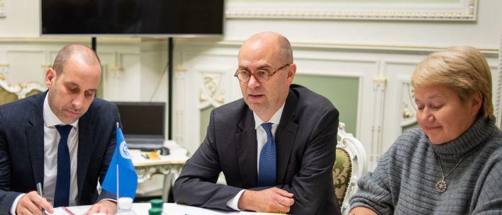 Гончарук обсудил с миссией МВФ новую трехлетнюю программу расширенного финансирования