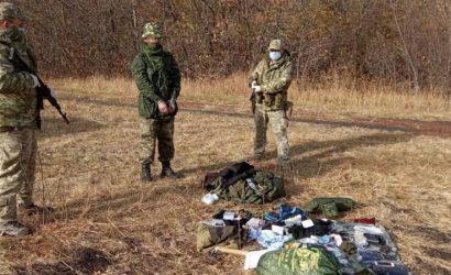 С рюкзаком и набором выживания: На Луганщине россиянин попросил убежища в Украине