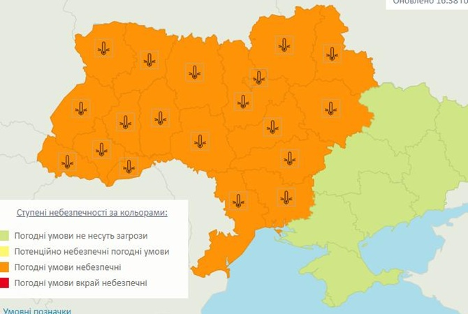 Украинцев ждут первые серьезные заморозки