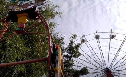 Запустение чувствуется: Как выглядит парк Щербакова в Донецке (Фото)