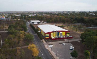Был старый заброшенный каток: В Краматорске завершили строительство Ледовой арены (Фото, видео)