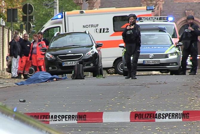 Стрельба и взрыв возле синагоги в Германии: двое погибших