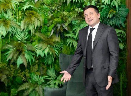 У Зеленского новый кабинет: тот самый «тайный бункер», где он давал интервью иностранным журналистам