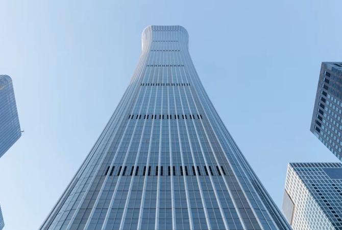 В Китае построили новый рекордный небоскреб 538 метров высотой