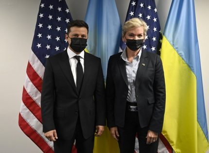 Зеленский призвал США начать консультации с Украиной и Германией по «Северному потоку-2»
