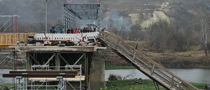 В штабе ООС рассказали, что происходит с мостом у Станицы Луганской (Фото)