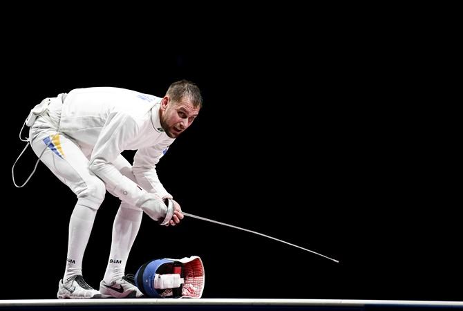 Шпажист Игорь Рейзлин завоевал вторую бронзу для Украины