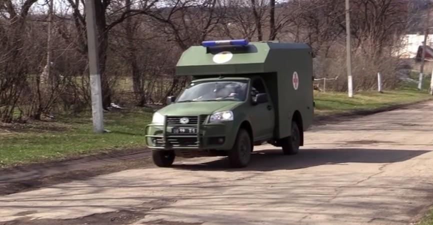 На Луганщину военные привезли гуманитарную помощь медицинского назначения (Видео)