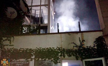 В Кривом Роге вспыхнул дом престарелых