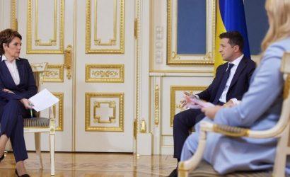 Президент Зеленский заявил, что готов испытать на себе украинскую вакцину от коронавируса