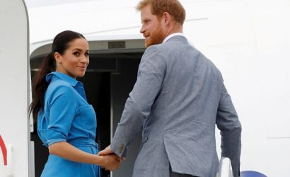 Меган Маркл засветила дешевое платье из-за сюрприза от принца Гарри