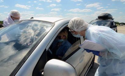 «ДНР» выпустила 18 автомобилей через КПП «Еленовка»