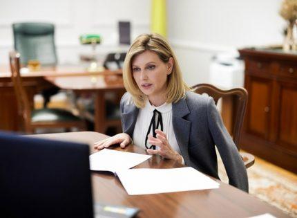 Елена Зеленская созвонилась с первой леди Бразилии обсудить сурдоперевод передач и фильмов