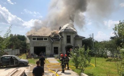 На Прикарпатье самолет врезался в дом, погибли четыре человека