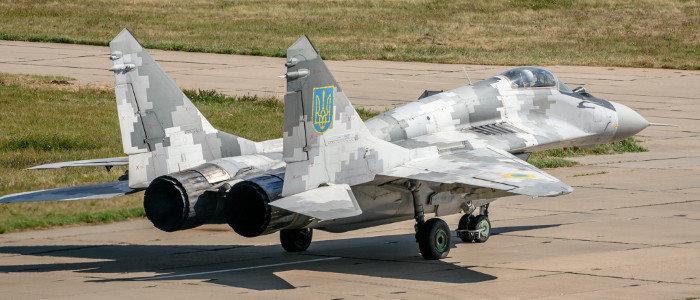 Воздушные Силы ВСУ получили очередной модернизированный истребитель