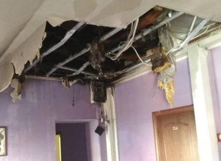 Во Львове горела гостиница Jam Hotel, эвакуировали постояльцев