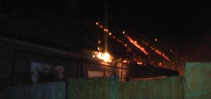 В «ЛНР» сгорел частный дом, есть жертвы (Фото)