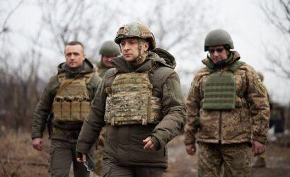 Зеленский: Украина начеку, но приветствует уменьшение войск на границе