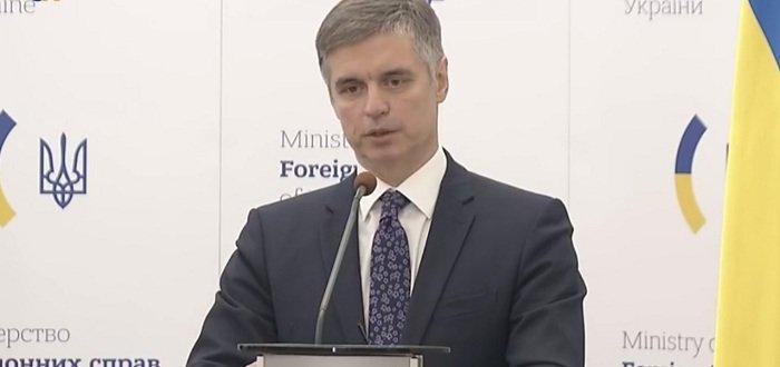 Дата разведения войск на Донбассе перенесена, – глава МИД Украины