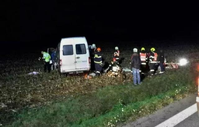 Автобус с заробитчанами попал в ДТП в Чехии, 10 пострадавших