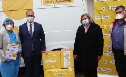 Медики Ивано-Франковска получили аппарат ИВЛ от Фонда Рината Ахметова