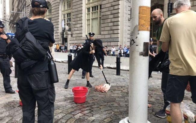 В Лондоне полиция задержала 217 экоактивистов