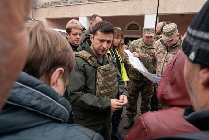 Зеленский об уволенном губернатора Луганщины: «Он не очень быстрый»