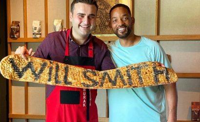 Уилл Смит наведался к шеф-повару CZN Burak: Это было фантастически!