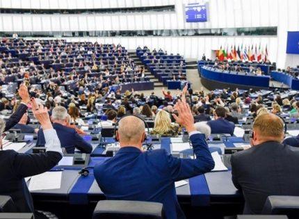 Европарламент призвал Евросоюз расширить санкции против Беларуси и запретить ей участвовать в Олимпиаде