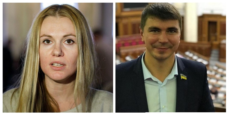 Полякова и Скороход выгнали с заседания «Слуги народа»
