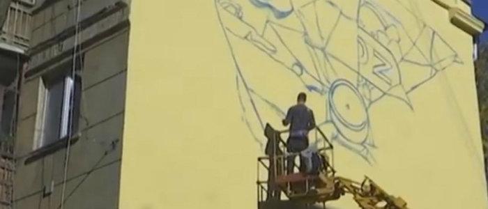 Город преображается: Что думают жители Краматорска о будущей улице муралов (Видео)