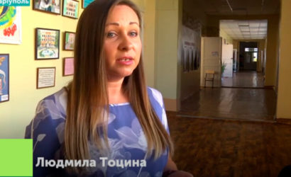 Борется за учительский «Оскар»: Учительница из Мариуполя вошла в ТОП-10 лучших (Видео)