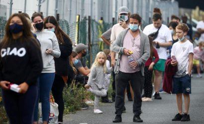 За неделю в Украине возросло количество госпитализированных и заболевших COVID-19