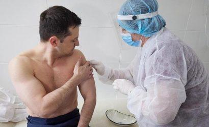 Что известно о вакцине, которой прививали Владимира Зеленского и Виктора Ляшко