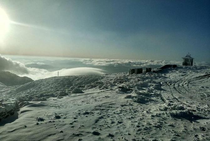 Морозы охватили восток Украины