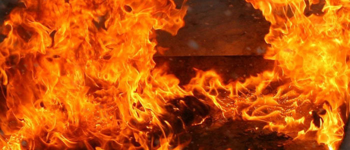 Пожар на Донетчине унес жизнь мужчины