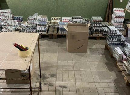Через линию разграничения: На Донетчину поставляли сигареты из «Л-ДНР» и Крыма