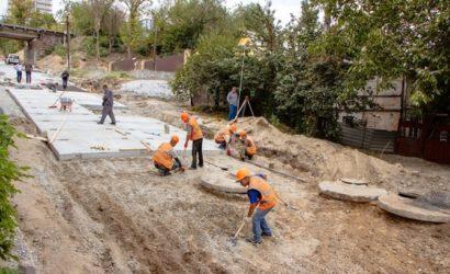 Факт. Капітальний ремонт Селянського узвозу в Дніпрі планують завершити достроково