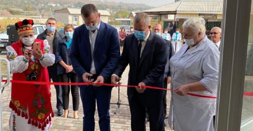На Донетчине открыли новую амбулаторию в приморском Мелекино (Фото)