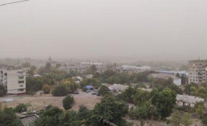 Закрывайте плотно окна: Пыльная буря добралась до Донетчины(Фото)