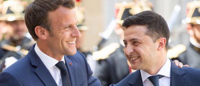 Встреча «Нормандской четверки» пройдет в Париже: Зеленский поговорил с Макроном