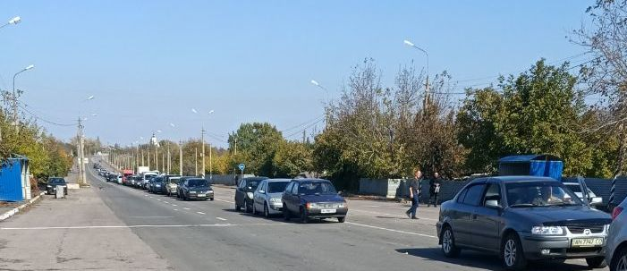 Людей немеряно: Ситуация в пунктах пропуска днем 12 октября