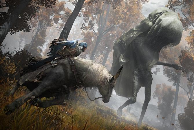 Вышел первый геймплейный трейлер игры Elden Ring, над которой работал Джордж Мартин