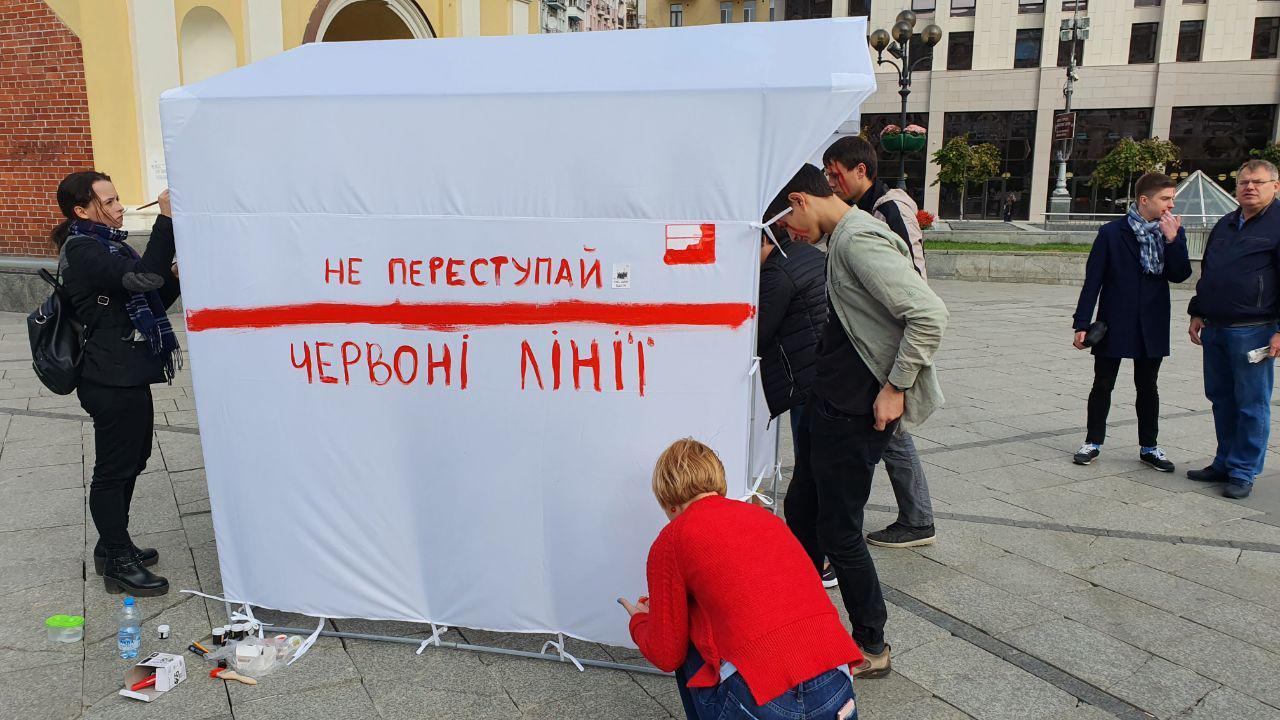 Журналист 5-го попросил протестующих на Майдане не общаться с корреспондентом Шария