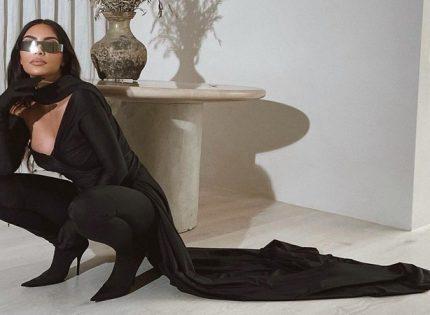 Никитюк, Орбакайте и Гагарина повторили образ Ким Кардашьян от Balenciaga