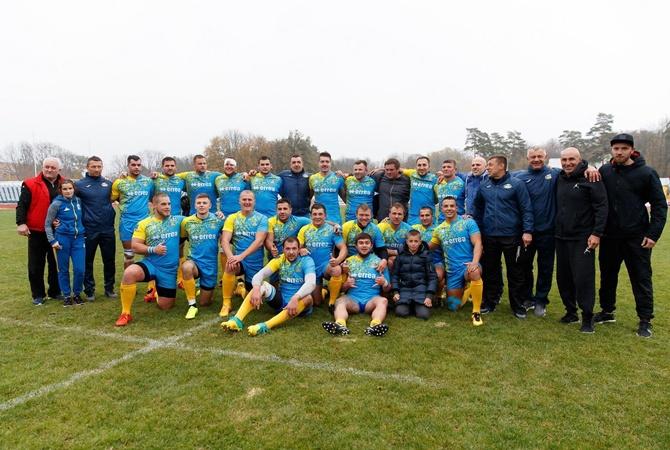 Регбисты Ярославского добыли для сборной Украины победу над Литвой