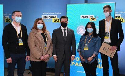 Зеленский поздравил первые две семьи, которые получили ипотеку под 7 процентов