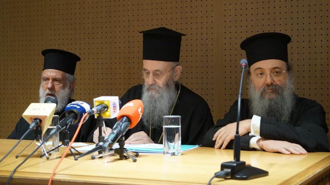 Два греческих митрополита заявили о непризнании ПЦУ